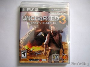 Uncharted 3: Drake's Deception (PS3), still sealed