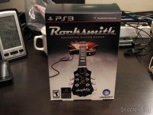 A caixa do Rocksmith (PS3)