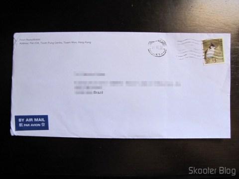 Envelope com o segundo pacote de Películas Protetoras para a Tela LCD do LG Optimus Net P690 / P698