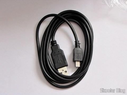 Cabo Micro USB de Dados/Carga para Nokia/Motorola/Samsung/LG/Blackberry/HTC (1,5 metro)