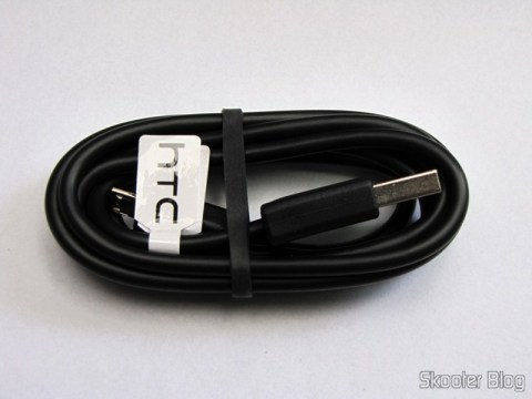 Designer's Micro USB Data Cable for HTC G7 (120CM-Length)
