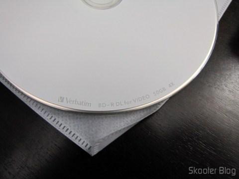 10 Discos Blu-Ray BD-R DL 50GB Verbatim (10 Verbatim Blank Blu-ray Discs 50GB BD-R DL 4x bluray)