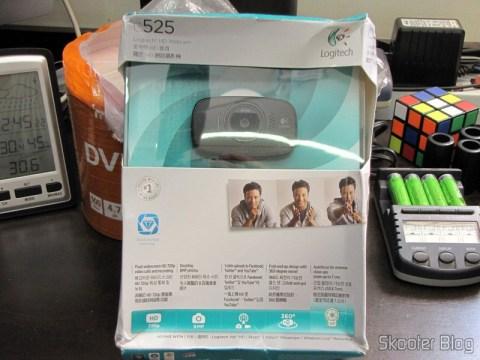 Webcam Logitech C525 720P USB 2.0 c/ Microfone Genuína, ainda na caixa
