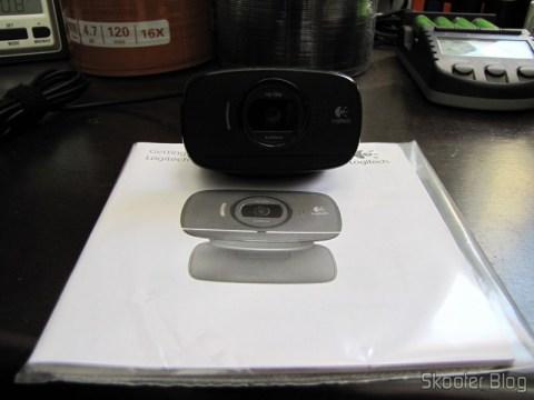 Webcam Logitech C525 720P USB 2.0 c/ Microfone Genuína