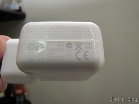 Adaptador de Energia USB 10W para Apple iPad