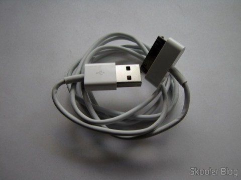 Cabo USB de Dados / Recarga Genuíno da Apple para o Novo iPad com 90cm (Genuine Apple New iPad USB Data / Charging Cable – White (90cm))
