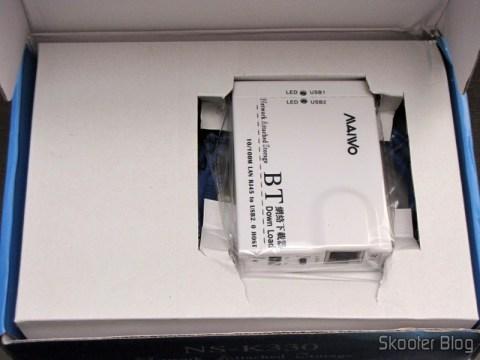 NS-K330 – Servidor USB / NAS / FTP /SAMBA / Impressão / UPNP / Compartilhamento + Cliente de BitTorrent (Standalone BitTorrent BT Client + USB / NAS / FTP / SAMBA / Printer / UPNP Sharing Network LAN Server)