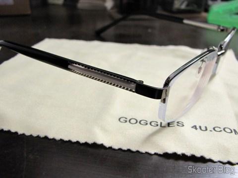 Meu par de óculos vindos direto do exterior, adquiridos na Goggles4u