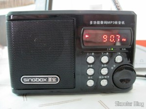 "Portable Radio and MP3 Player FM Singbox SV922 com, USB, TF, SD, Alto-Falante, TFD 1.5″ (Singbox 1.5 SV922″ LCD MP3 Player Speaker w/ FM / USB / TF USB BlTFk), LCD 1.5"" (Singbox 1.5 SV922"" LCD MP3 Player Speaker w/ FM / USB / TF - Black)"