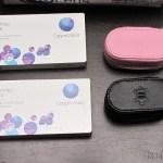 Lentes de Contato Cooper Vision Biofinity Toric e Estojos de Couro para Lentes de Contato Amcon (Amcon Leather Contact Lens Cases)