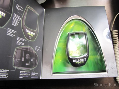 Packaging Mouse Logitech G9x - Edição Call of Duty: Modern Warfare 3 (New Logitech G9X Gaming Mouse Call of Duty: MW3 Edition)