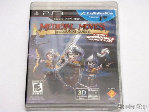 Medieval Moves: Deadmund's Quest (PS3), ainda lacrado