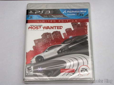 Need for Speed Most Wanted (2012) (PS3), ainda lacrado