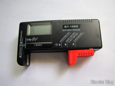 "Tester Level Energy Batteries with Digital LCD 3.5 "" (3.5″ LCD Digital Battery Power Level Tester)"