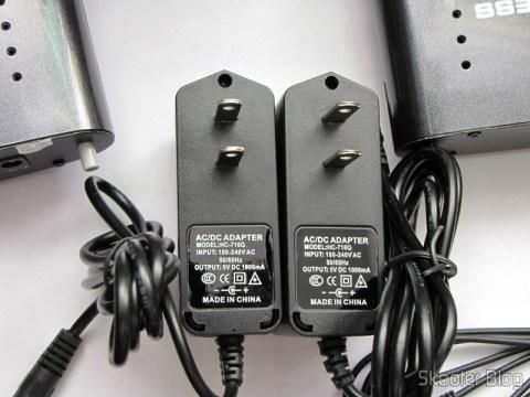 Fontes de alimentação do Repetidor / Extensor de Controle Remoto Sem Fio IR 433MHz, até 200 metros Pakite PAT-433 (New 433MHz Wireless IR Remote Extender Repeater 200M)