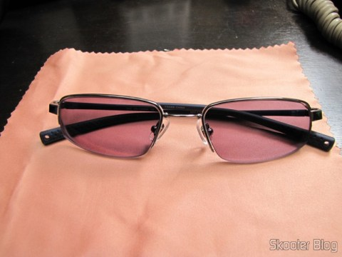 Second pair of glasses degree Nike Flexon 4182 045 com slow Essilor Transitions 1.67: with activated Transitions lenses