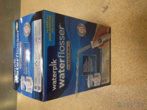 Waterpik Ultra Water Flosser, in the photo sent by Shipito