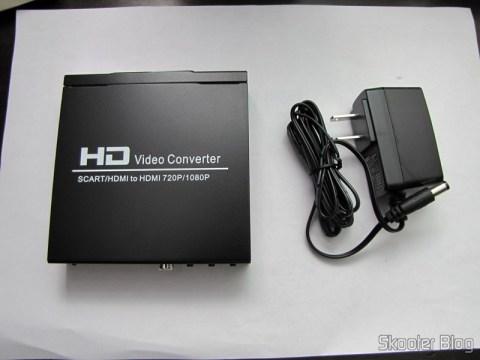 Conversor de Video de SCART + HDMI para HDMI (SCART + HDMI to HDMI Video Converter – Black) e sua fonte