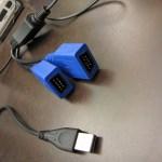 Cabo Adaptador para conectar dois Joysticks de Mega Drive (Sega Genesis) no PC via USB (Genesis to PC USB Cable BRAND NEW for Sega Genesis)