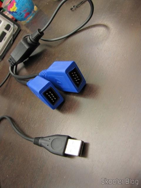 Adapter cable to connect two joysticks Mega Drive (Sega Genesis) the PC via USB (Genesis to PC USB Cable BRAND NEW for Sega Genesis)