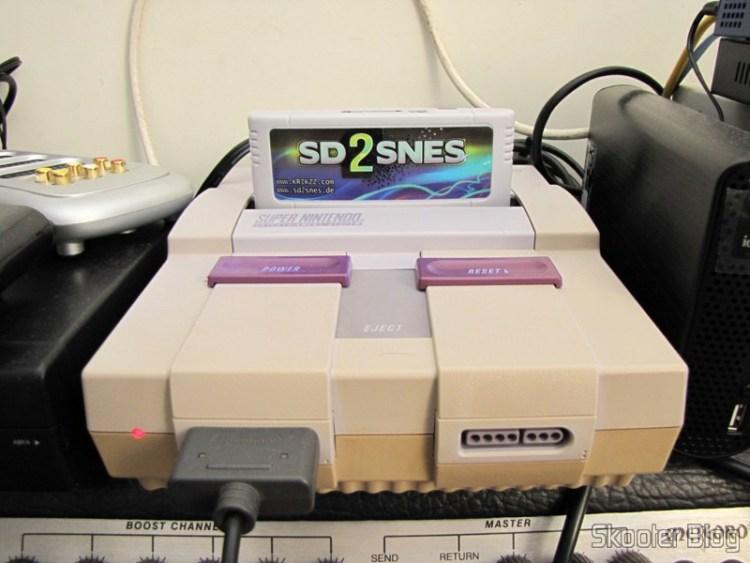 SD2SNES - Flash Cart para o Super Nintendo no meu Super Nintendo