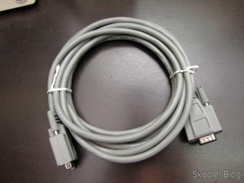 Cabo D-Sub HD Premium de 15 pins (HD15) Dual Shielding and EMI cage - Male / Female (15-Pin (HD15HD15emium HD D-Sub Cable - Double Shielded + EMI Cage - Male / Female)