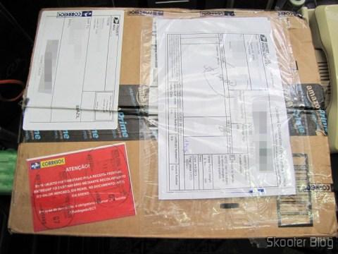 Pacote da Amazon com o Disco Rígido (HD) Externo Portátil WD My Passport 2TB USB 3.0 Preto, o Mouse Logitech G9X Edição Call of Duty: MW3, e as Memórias de Laptop Corsair Vengeance 16GB (2x8GB) DDR3 1600MHz