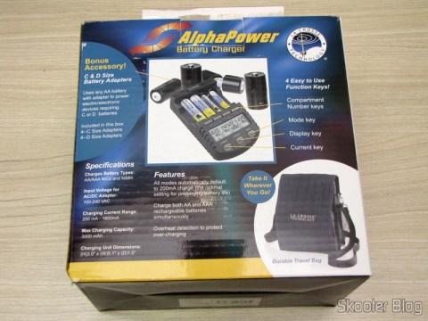 Embalagem do Carregador de Pilhas La Crosse Technoly Alpha Power BC1000 (La Crosse Technology Alpha Power Battery Charger, BC1000)