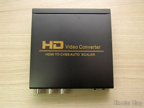 Converter HDMI to Composite Video (CVBS) + Stereo Audio (HDMI to CVBS Video Converter)