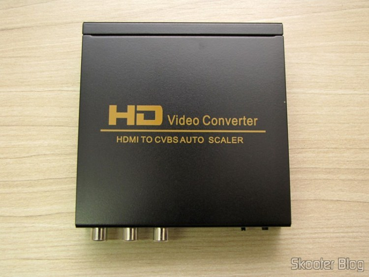 Converter HDMI to Composite Video (CVBS) + Stereo Audio (HDMI to CVBS Video Converter)