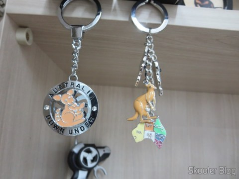 Brought keychains Australia