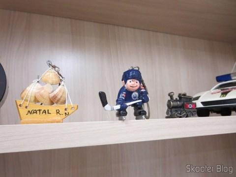 Chaveiros de Natal no Rio Grande do Norte, do Edmonton Oilers (hockey) e do Mundo à Vapor em Canela no Rio Grande do Sul