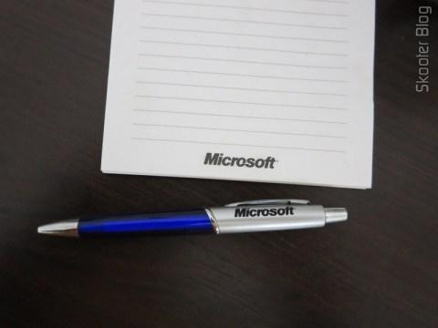 Block and Microsoft Pen