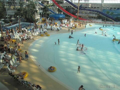 Praia Artificial no West Edmonton Mall