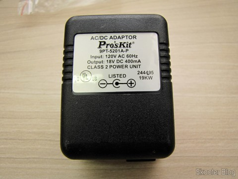 Fonte de Alimentação do Mini Grinder Pro'sKit PT-5201A (110 In)