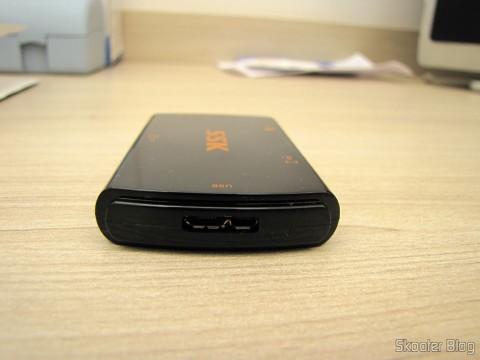 Leitor de Cartões SD, Micro SD / TF / MS / CF SSK SCRM059 USB 3.0 Alta Velocidade 5Gbps (SSK SCRM059 High Speed 5Gbps USB 3.0 SD, Micro SD / TF / MS / CF Card Reader - Black (64GB))