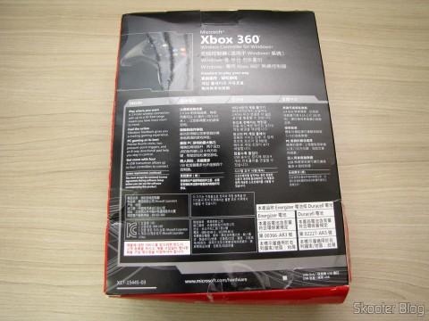 Controlador sem Fio de XBox 360 para Windows com Receptor Novo e Lacrado (Brand New & Factory Sealed Xbox 360 Wireless Controller For Windows Black), em sua embalagem