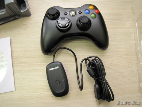WIRELESS Controller for XBox 360 Receiver for Windows with New and Sealed (Brand New & Factory Sealed Xbox 360 Wireless Controller For Windows Black)
