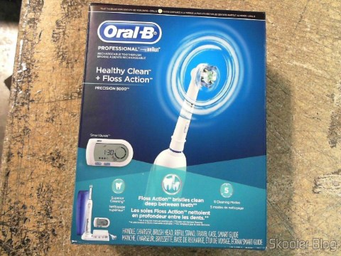 Rechargeable Electric Toothbrush Oral-B Professional Healthy Clean + Floss Action Precision 5000 (Oral-B Professional Healthy Clean Floss Action Precision 5000 Rechargeable Electric Toothbrush(packaging may vary)), in photo taken by Shipito