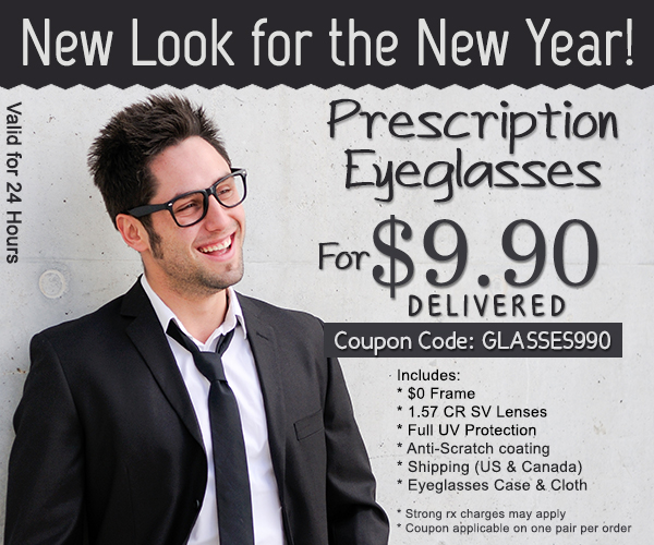 Code of Goggles4U: eyeglasses for only $ 9,90