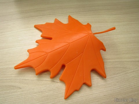 Para-Porta Estilo Folha de Maple Laranja (Maple Leaf Style Door Stopper Guard – Orange)