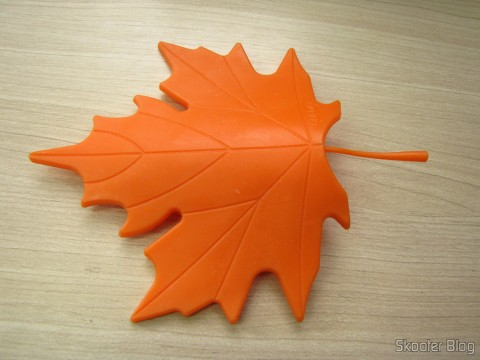 To-Door Style Maple Leaf Orange (Maple Leaf Style Door Stopper Guard – Orange)