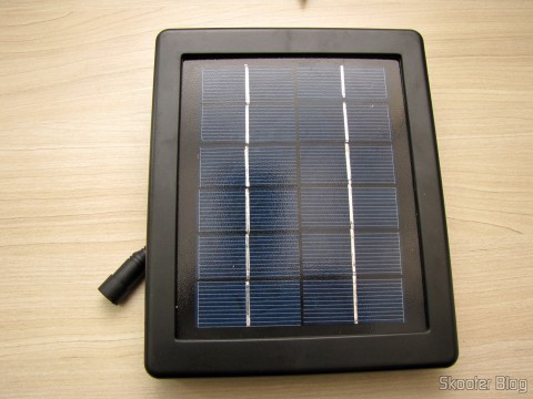 Solar reflector panel 30 Solar LED lamps 2W 7000K 200LM waterproof (Waterproof Solar 2W 7000K 200lm 30-LED Flood Cool White Light Project Lamp – Black)