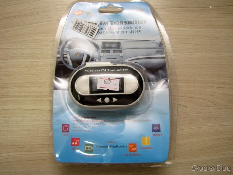 Fm Transmitter Full Range USB Port C007B Black