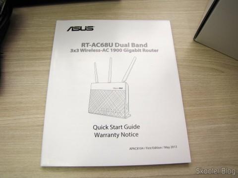 Manual de Instruções do Roteador ASUS RT-AC68U Dual Band Gigabit Router 802.11ac Wireless-AC1900