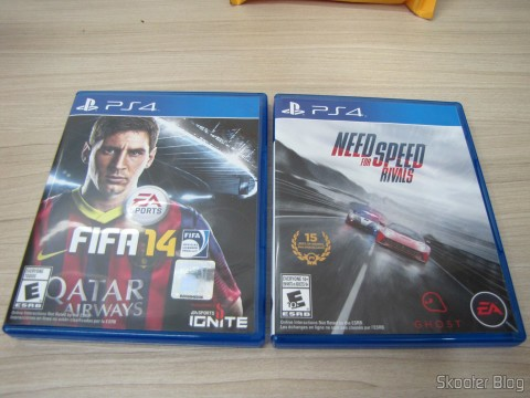 Fifa 14 (PS4) (US) e Need For Speed Rivals (PS4) (US)