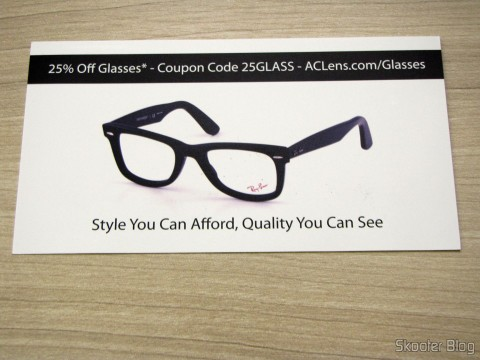 Discount coupon to buy sunglasses from AC Lens