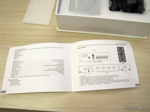 Manual de Instruções da Matriz HDMI 1080p LINK-MI LM-MX03 - 4 Entradas / 2 Saídas (LINK-MI LM-MX03 1080p HDMI Matrix - Black (4-In / 2-Out))