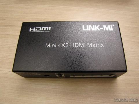 Matriz HDMI 1080p LINK-MI LM-MX03 - 4 Entradas / 2 Saídas (LINK-MI LM-MX03 1080p HDMI Matrix - Black (4-In / 2-Out))