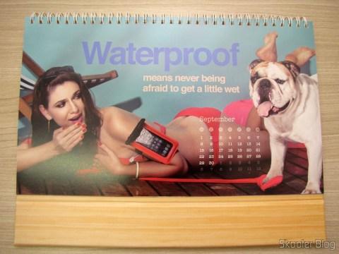 Calendário de Mesa da DX 2014 com Cupons de Desconto nos 12 meses, totalizando US$ 237,00 (DX 2014 Desk Calendar with 12 Months' Coupon Codes (Value USD$ 200)): Mês de Setembro